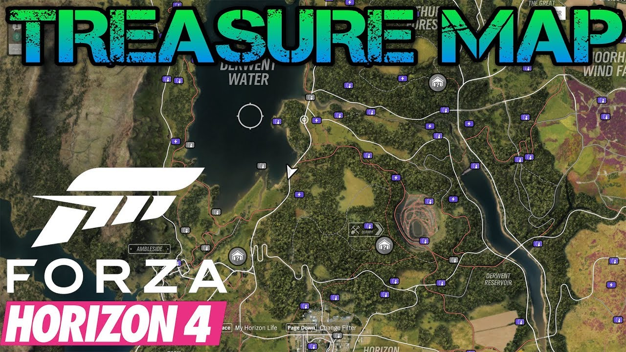 Treasure Map In Fh4 All Board Locations In Forza Horizon 4 And