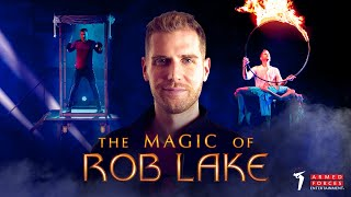 Illusionist Rob Lake Performs Exclusive Magic Show for the Troops // Armed Forces Entertainment