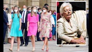 ✅La reina Letizia gran ausente en el ultimo adiós a su abuela👑😌