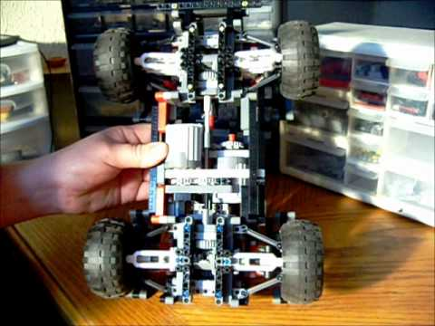 4 Wheel return-to-center steering 4 wheel drive/suspension