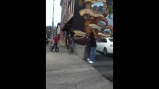 3 wheel bike!