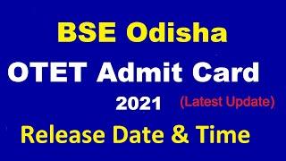 OTET Admit Card 2021| OTET Admit Card 2021 Download