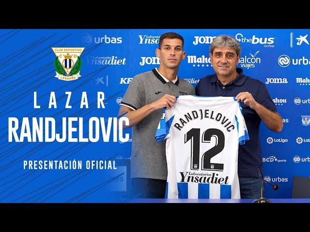 🎙Presentación de Lazar Randjelovic como nuevo jugador del C.D. Leganés