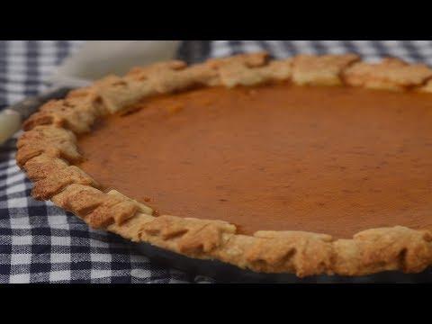 Butternut Squash Pie Recipe Demonstration - Joyofbaking.com