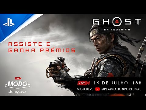 MODO PlayStation LIVE - GHOST OF TSUSHIMA | ASSISTE E GANHA PRÉMIOS!