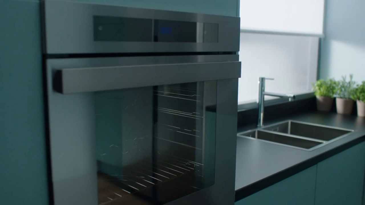 Panasonic Integrated Kitchen   Built In Oven   The New Kitchen Blueprint    YouTube