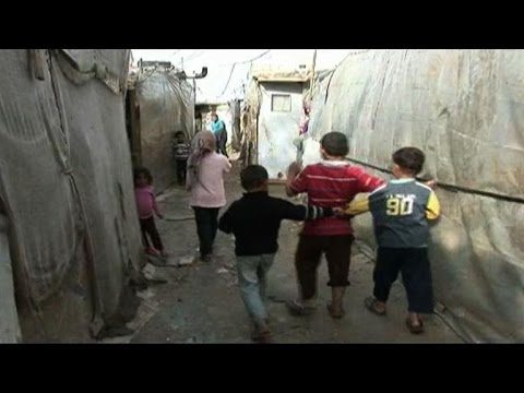 Syrian refugees in Lebanon react to the suspension of UN aid