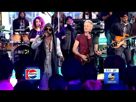 "Sting & Shaggy Perform ""Don't Make Me Wait"" (GMA Live)"