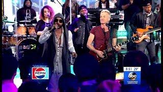 "Sting & Shaggy Perform ""Don't Make Me Wait"" (GMA Live)"
