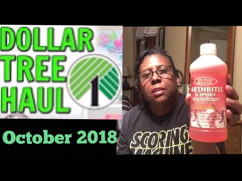 Hugh Dollar Tree Shopping Haul | October