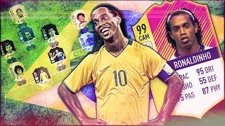 РОНАЛДИНЬО | ЛЕГЕНДАРНАЯ СБОРНАЯ БРАЗИЛИИ | БРАЗИЛИЯ НА ЧЕМПИОНАТЕ МИРА #4 | FIFA 18 ULTIMATE TEAM