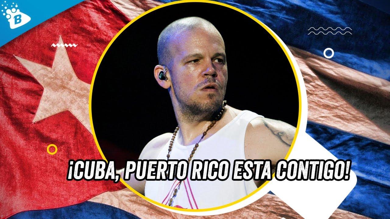 """Residente """"Calle 13"""": ¡Mi Opinión Y Apoyo Total A Las Manifestaciones En Cuba!"""