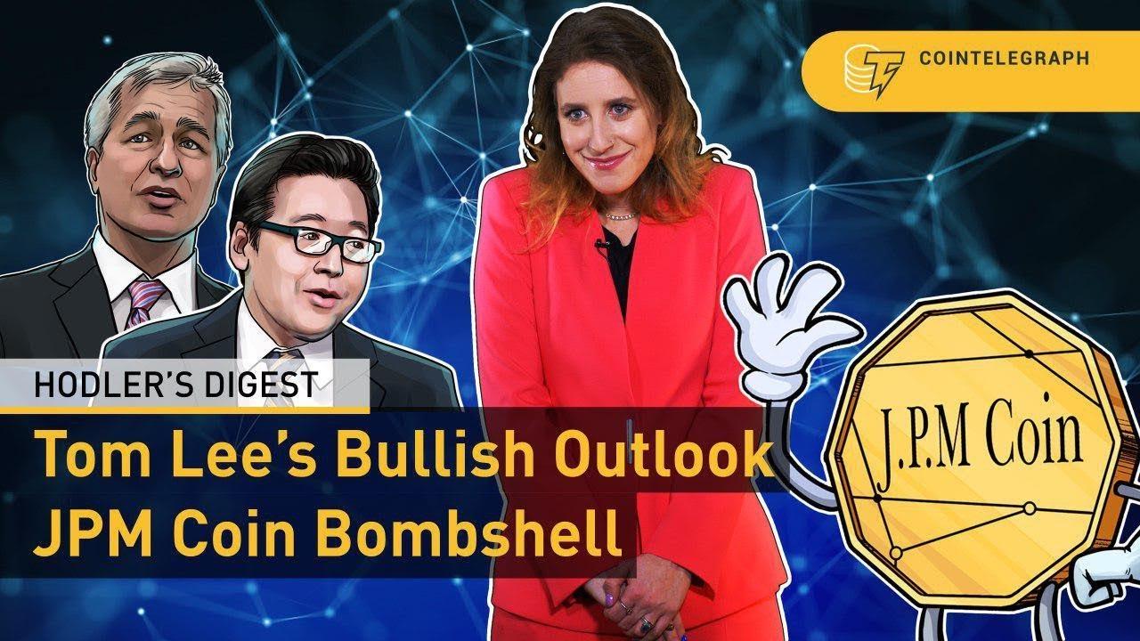 Tom Lee's Bullish Outlook & JPM Coin Bombshell | Hodler's Digest