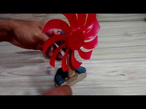 How To Make Dc Motor Fan Free Energy Using Magnetic
