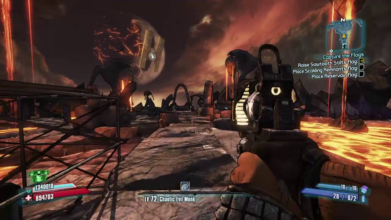 Borderlands 2: Pimpernel And Ahab Gunzerker Glitch!