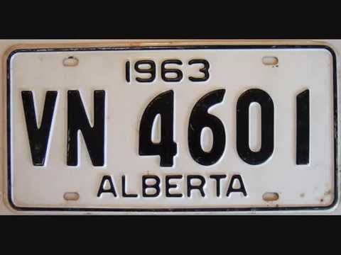how to change an alberta license plate