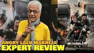 Lalu Makhija EXPERT REVIEW on Saaho Movie | Prabhas, Shraddha Kapoor | Saaho Public Review