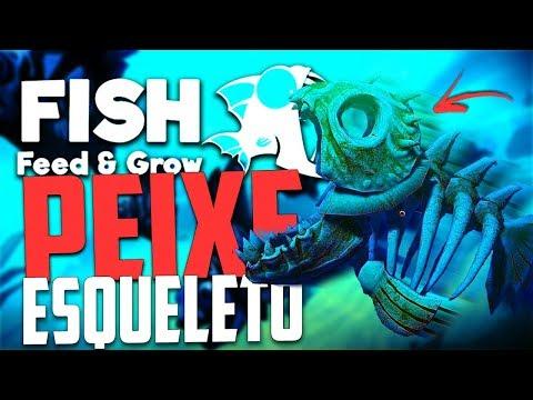 PEIXE ESQUELETO SECRETO! - Feed And Grow