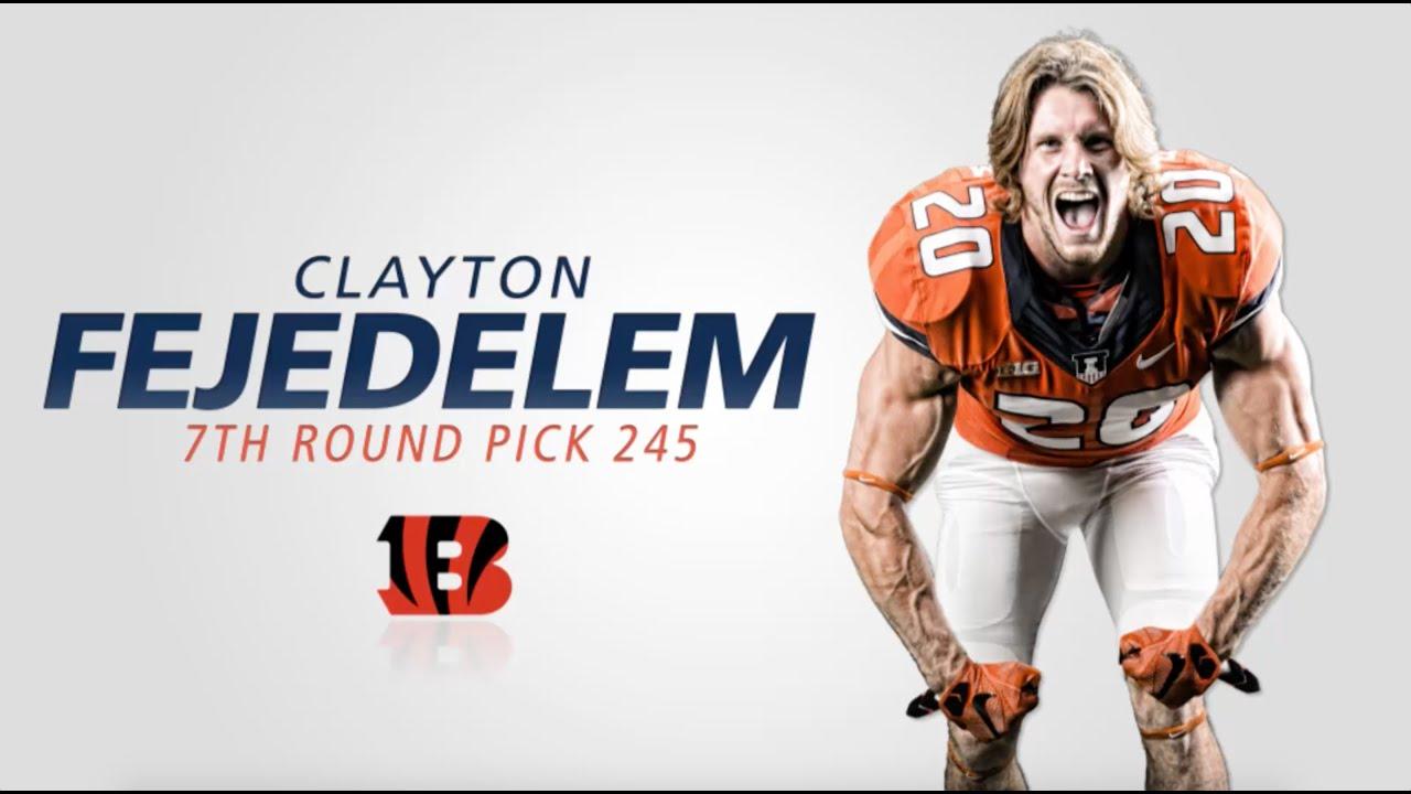 Clayton Fejedelem NFL Jersey