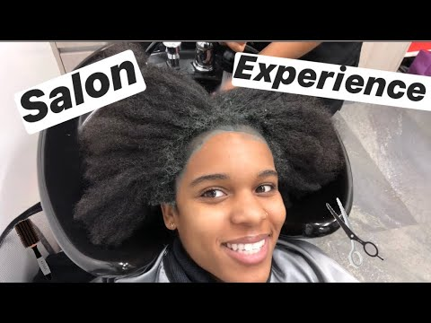 My First Natural Hair Salon Experience