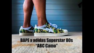 BAPE x Superstar 80s 'ABC Camo'