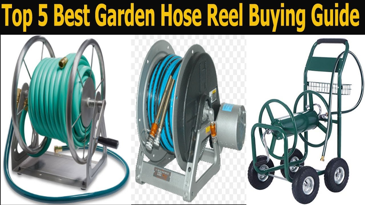 top 5 best garden hose reel in 2018 best garden hose reel in the marketbest garden hose reel reviews - Best Garden Hose Reel