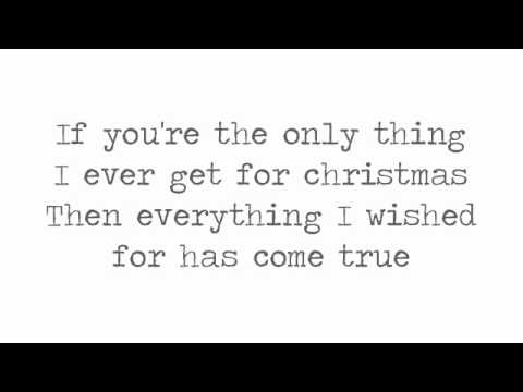 Justin Bieber - The Only Thing I Ever Get For Christmas (Lyrics On Screen)
