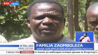 Familia katika eneo la Magharibi zinaomboleza vifo vya wapendwa wao kutokana na ajali ya Fort Tennan