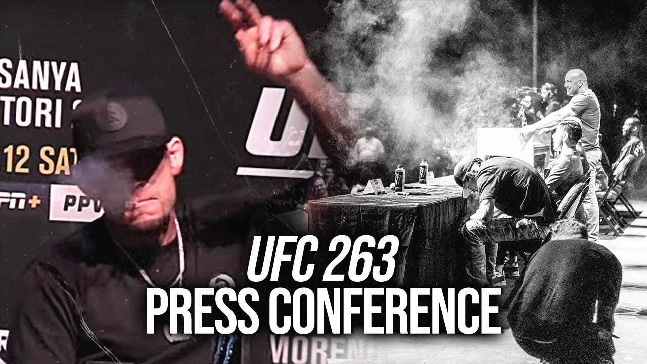 UFC 263: Press conference