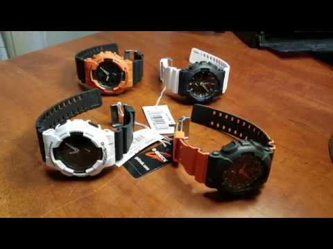 Some Neat Casio G Shock Ga100 Watch Bezel Color Swaps