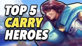 Top 5 OP Heroes that Carry in Competitive