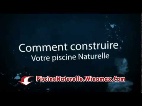 construire sa piscine naturelle soi meme le guide complet youtube. Black Bedroom Furniture Sets. Home Design Ideas