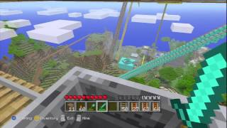 minecraft xbox 360 edition longest roller coaster on xbox 7 minutes