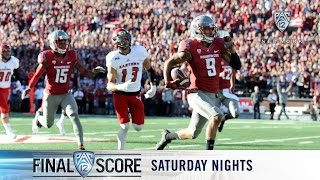 Highlights: Washington State s Luke Falk and Gabe Marks connect for two TDs