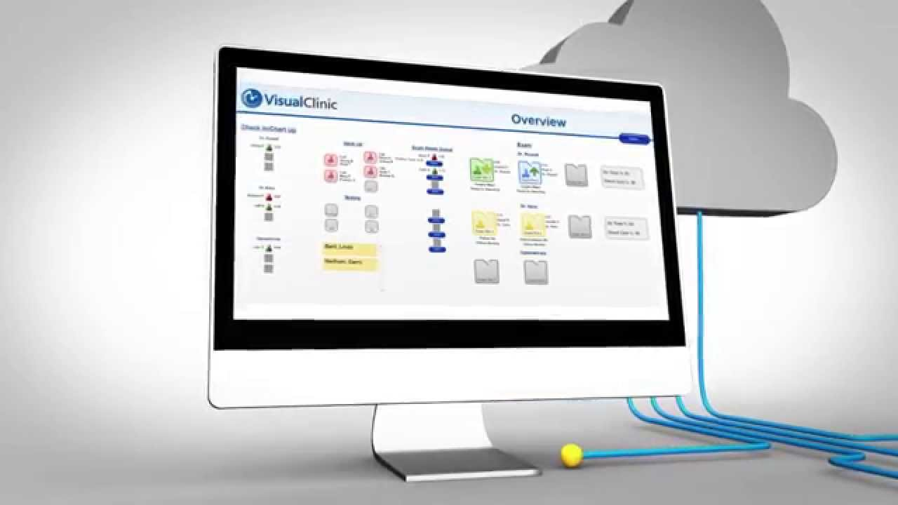 Visual Clinic Patient Workflow Software Youtube