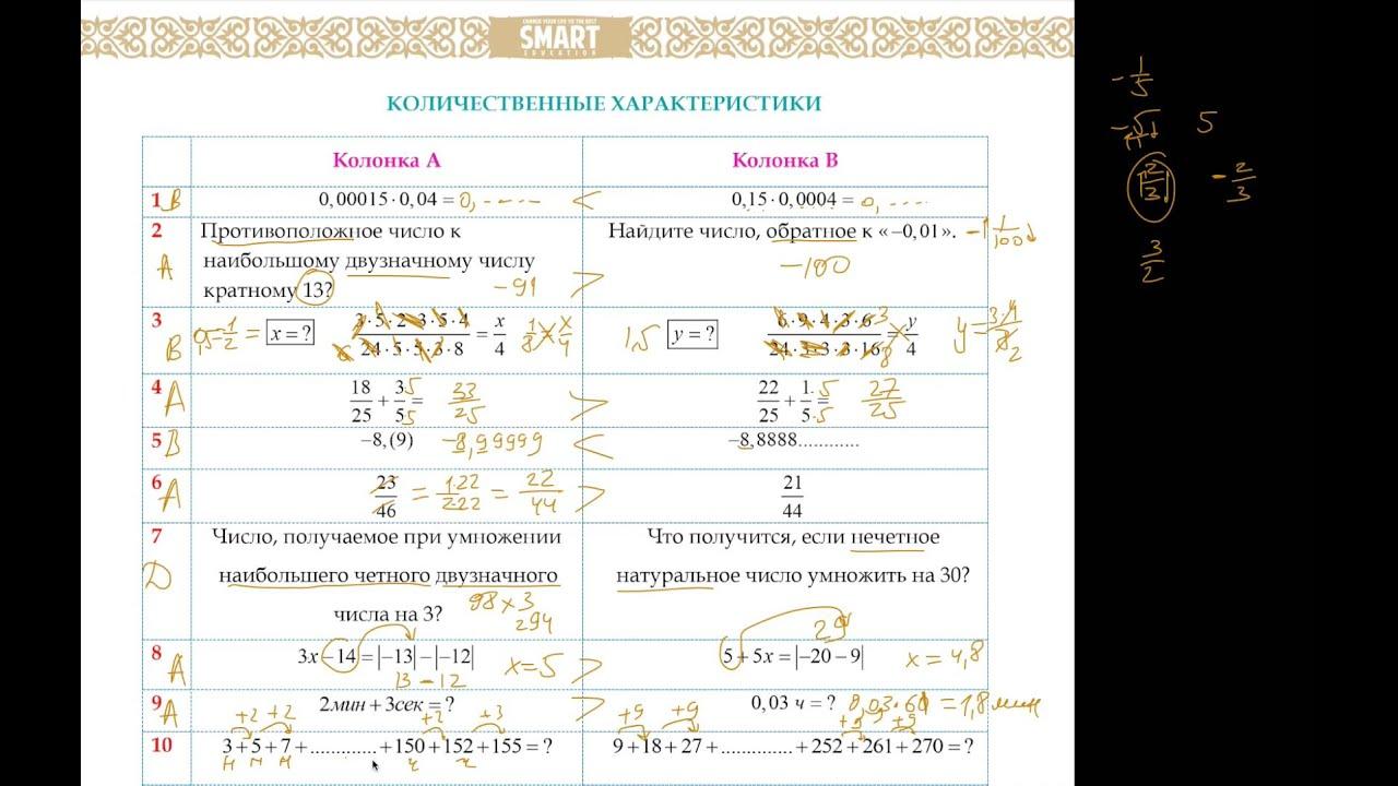 Тесты для поступления в ниш 6 класс 2016