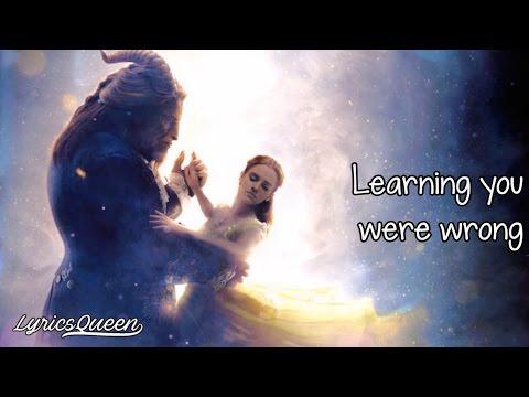 Ariana Grande & John Legend - Beauty And The Beast [Lyrics] HD