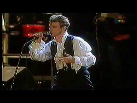 David Bowie Derby Rock Festival 1990