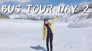 [BANFF BUS TOUR] DAY 2 到BANFF喇!???? 哥倫比亞冰川???? 深達300公尺冰河???? 走在280米高的玻璃橋???? 中文字幕 BONTIME