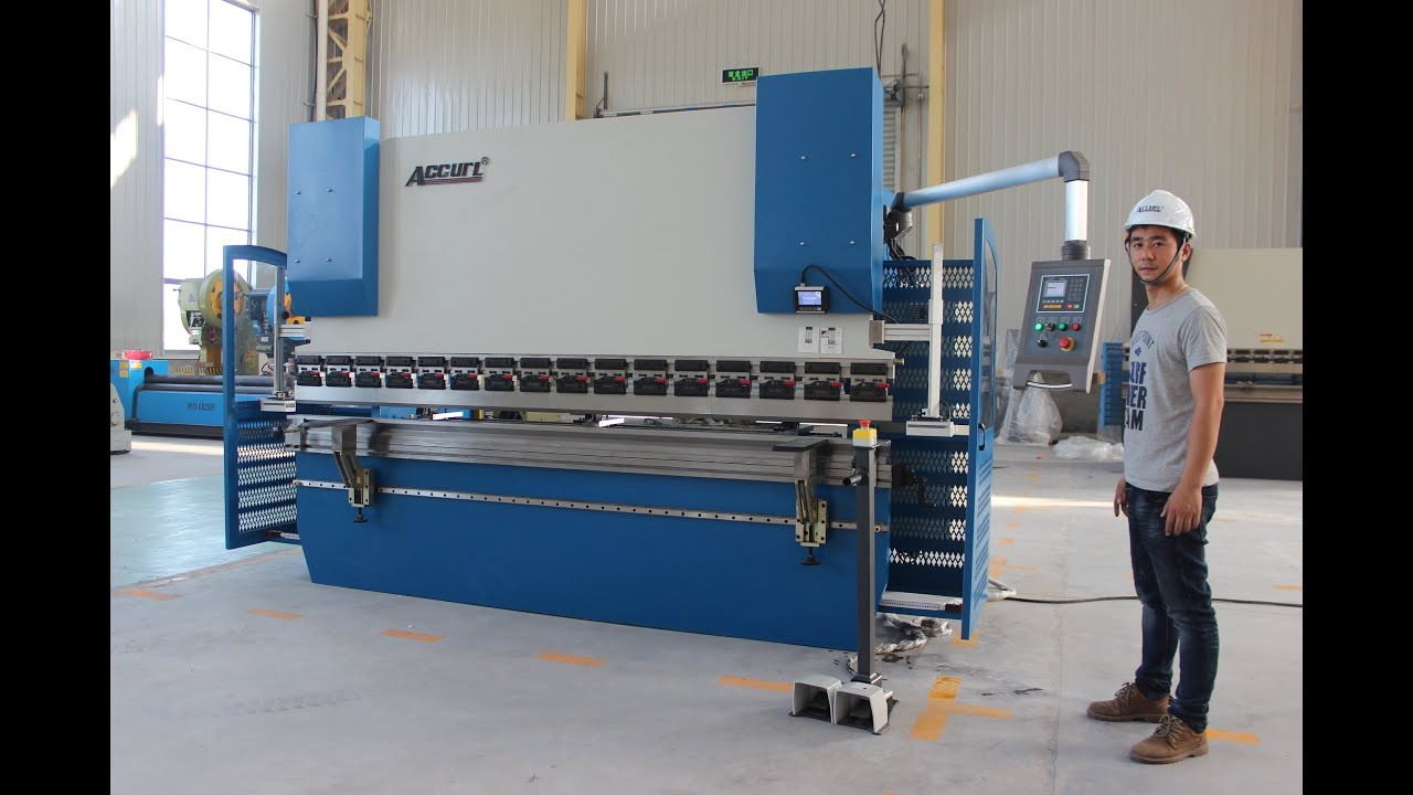 Accurl Ce 2 Axis Cnc Press Brake 130tx3200 E200 Nc Control