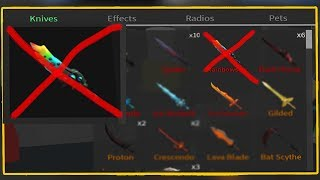I'M GETTING RID OF THIS KNIFE.. (Roblox Assassin)