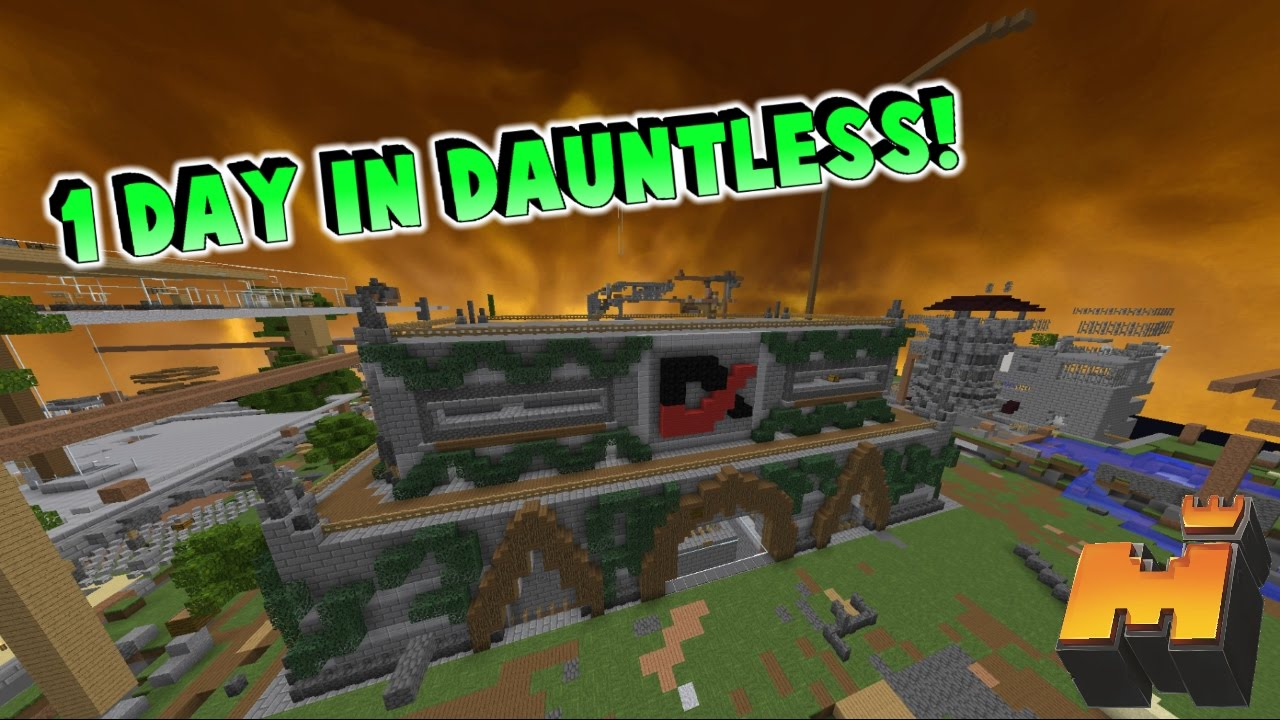 Joining Dauntless For A Day | Mineplex Clans Highlights #39
