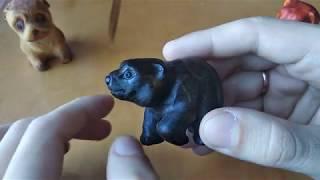 #резьбаподереву Резные миниатюрные статуэтки из дерева
