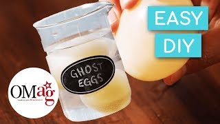 HALLOWEEN SCIENCE EXPERIMENT! DIY Spooky Eggs! | OMaG | American Girl