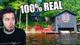 YO VIVÍ AQUI! 100% REAL | House Flipper #19