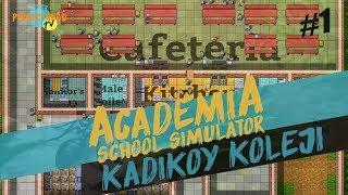 Academia School Simulator / Kadiköy Koleji / TÜRKÇE Oynanış #01