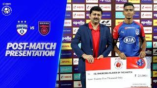 Post-Match Presentation - Bengaluru FC 3-0 Odisha FC | Hero ISL 2019-20