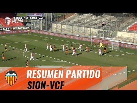 RESUMEN DEL FC SION - VALENCIA CF (0-3)