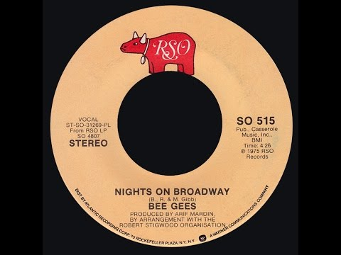Bee Gees ~ Nights On Broadway 1975 Disco Purrfection Version