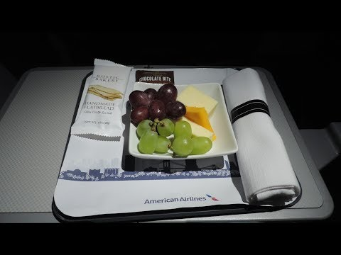 American Airlines First Class, Honolulu-Los Angeles